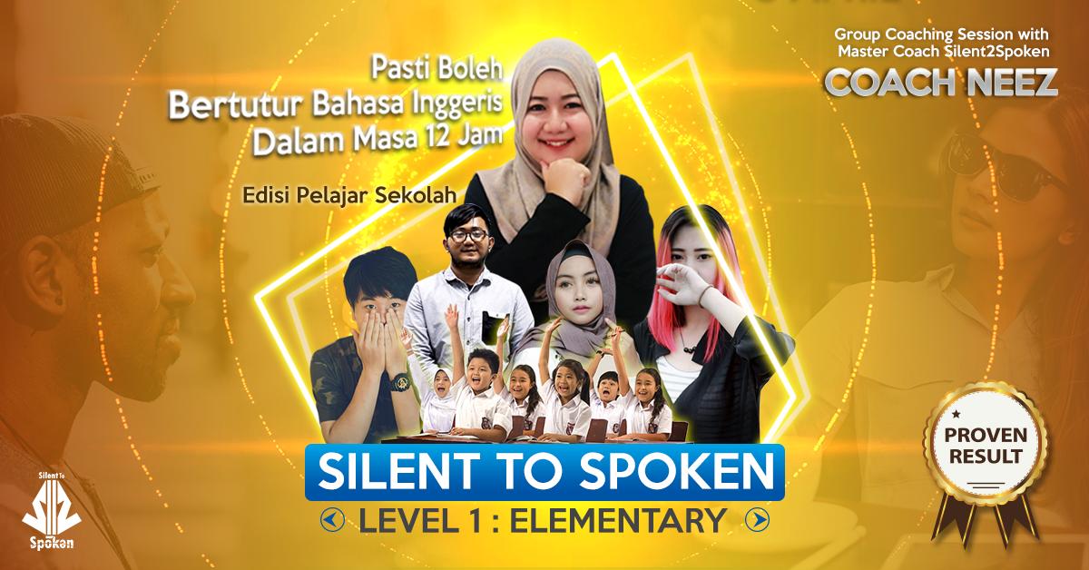 silent 2 spoken - Level 1: Elementary