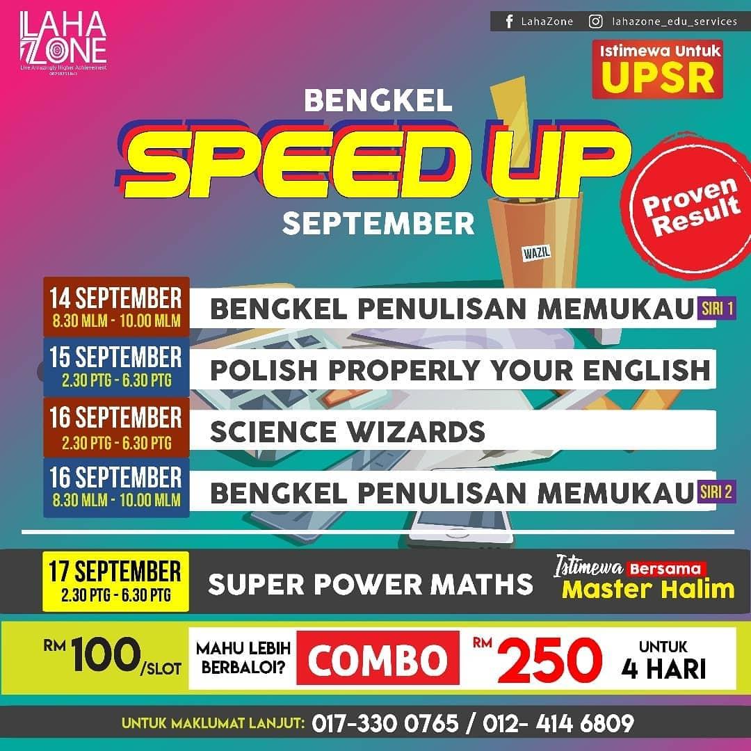 SPEED UP UPSR DAN PT3