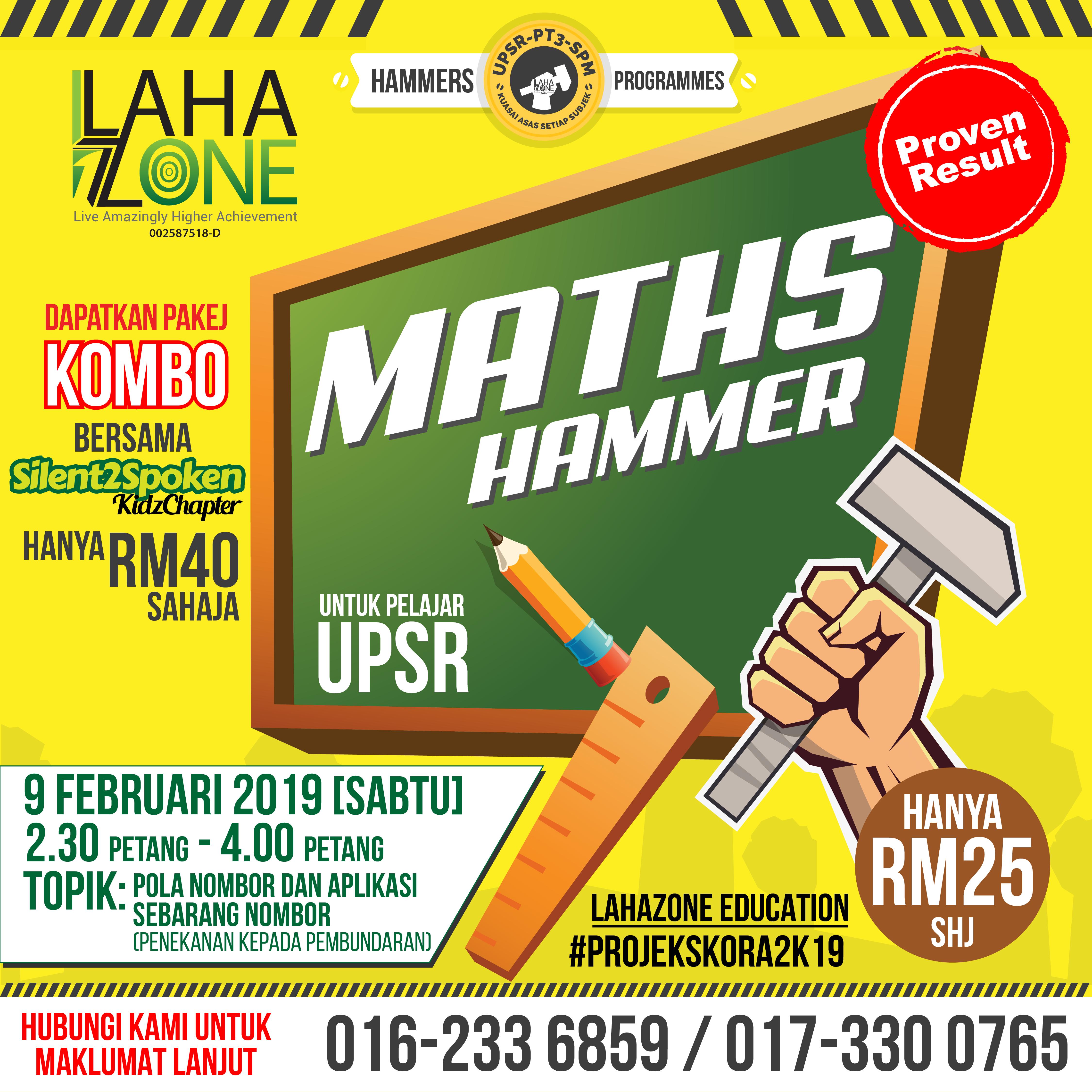 Hammer Program Math UPSR